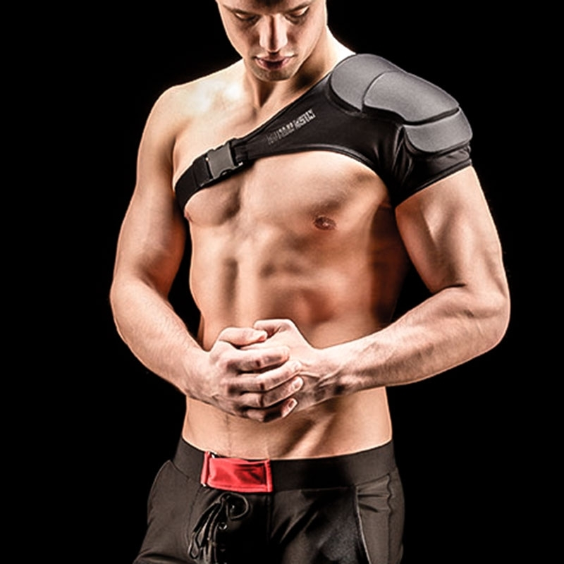 BARCODE Berlin PADs Schulter Football single-harness black