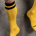 BARCODE Berlin KNIE STRUMPF football-socken yellow-black