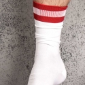BARCODE Berlin short SOCKS city white