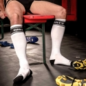 BARCODE Berlin KNIE STRUMPF identity-socks -DIRTY-