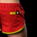 BARCODE Berlin SHORTS gym sprint neon 10090 red-yellow