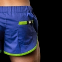 BARCODE Berlin SHORTS LIMITED gym sprint neon 10090 blue-green
