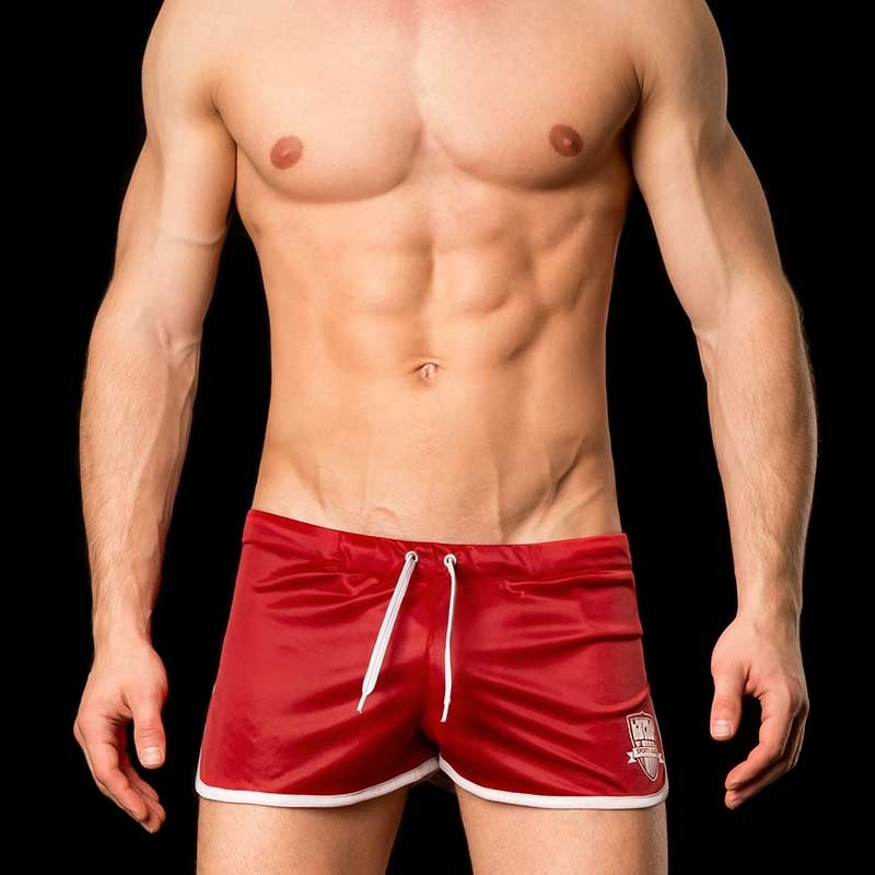 BARCODE Berlin SHORTS gym swim MARIO 91033 home red