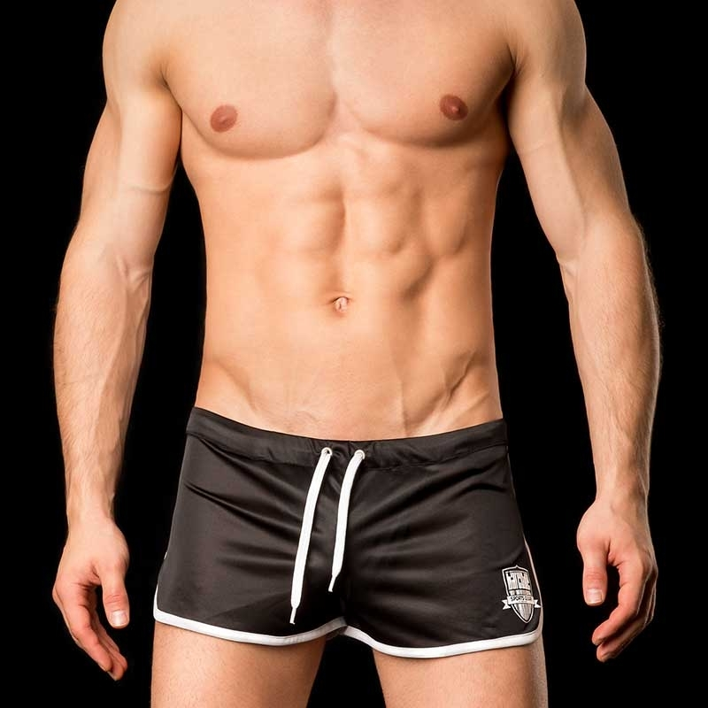 BARCODE Berlin SHORTS gym swim MARIO 91033 home black