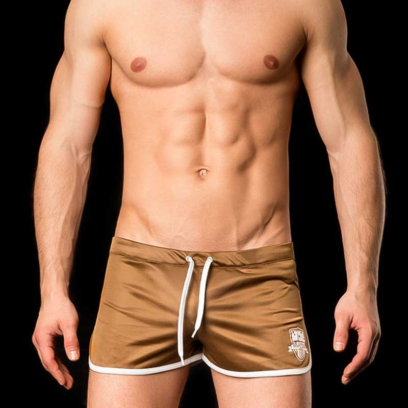 BARCODE Berlin SHORTS LIMITED gym swim MARIO 91033 home brown