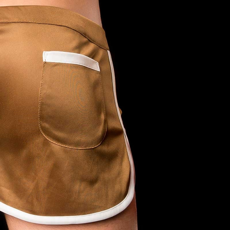 BARCODE Berlin SHORTS gym swim MARIO 91033 home brown
