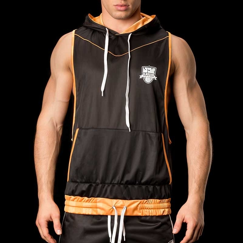 BARCODE Berlin T-SHIRT sport TANK HOODIE Player MANUEL black