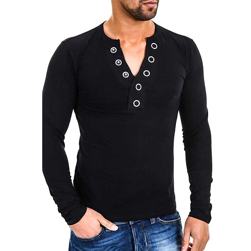 CARISMA SWEATSHIRT CRSM3013 large snap buttons