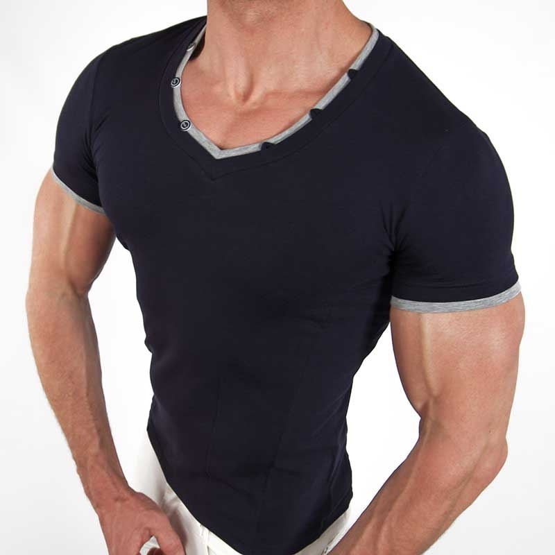 CARISMA T-SHIRT CRSM9002 muscle cut