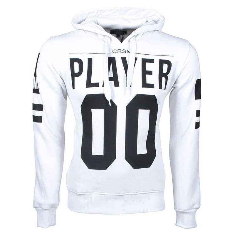 CARISMA PULLOVER HOODIE CRSM-5057 Team Player 00 white