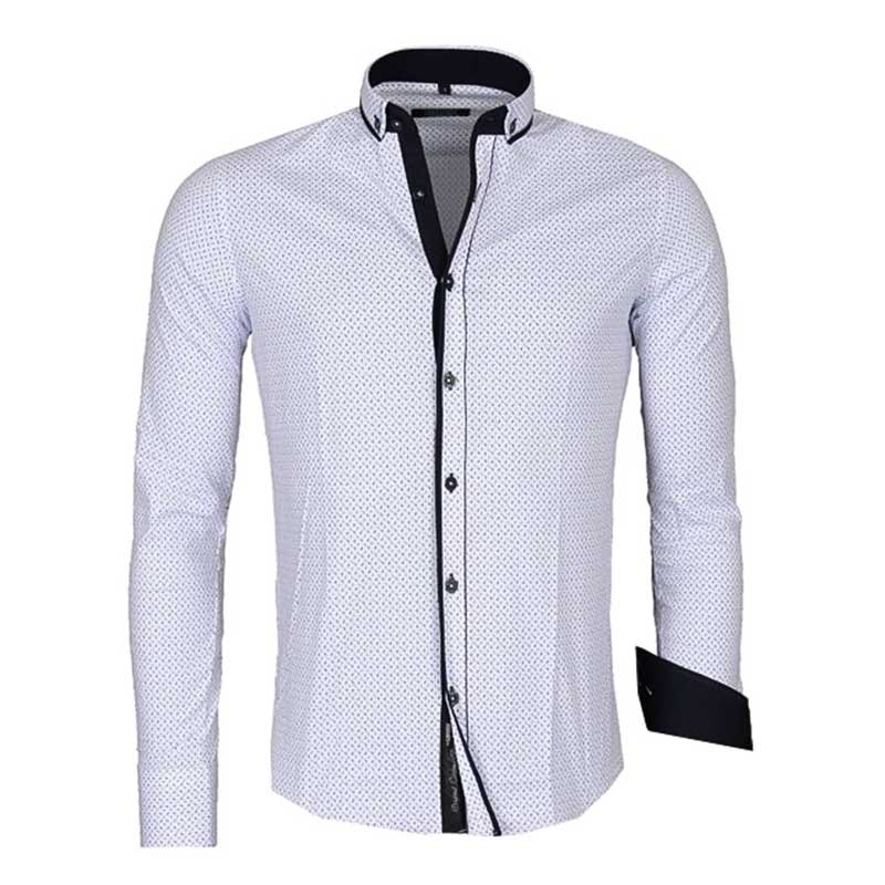 CARISMA SHIRT CRSM8243 dot pattern
