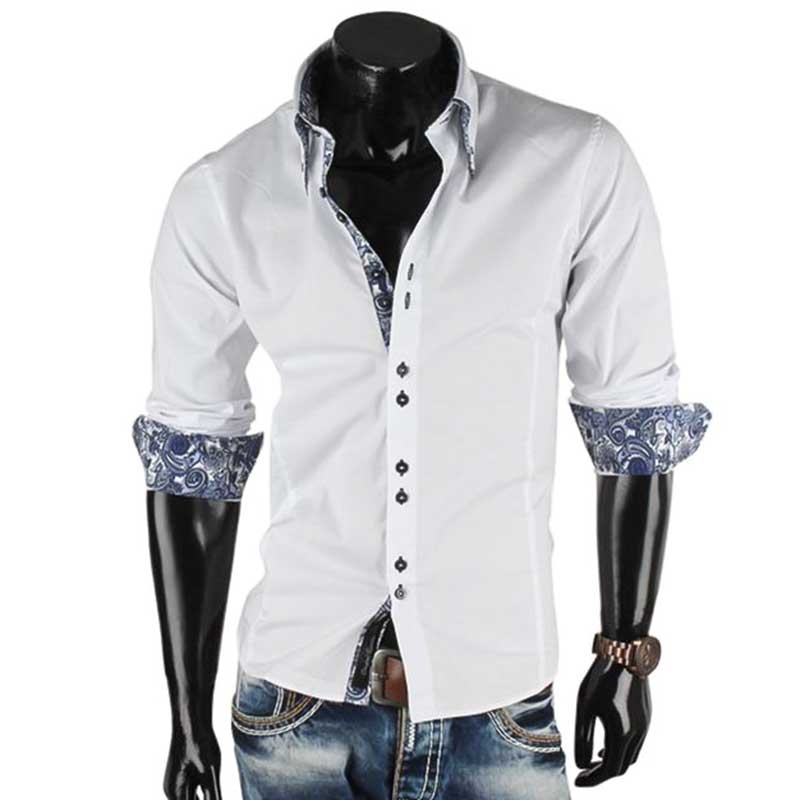 CARISMA SHIRT CRSM8173 double button