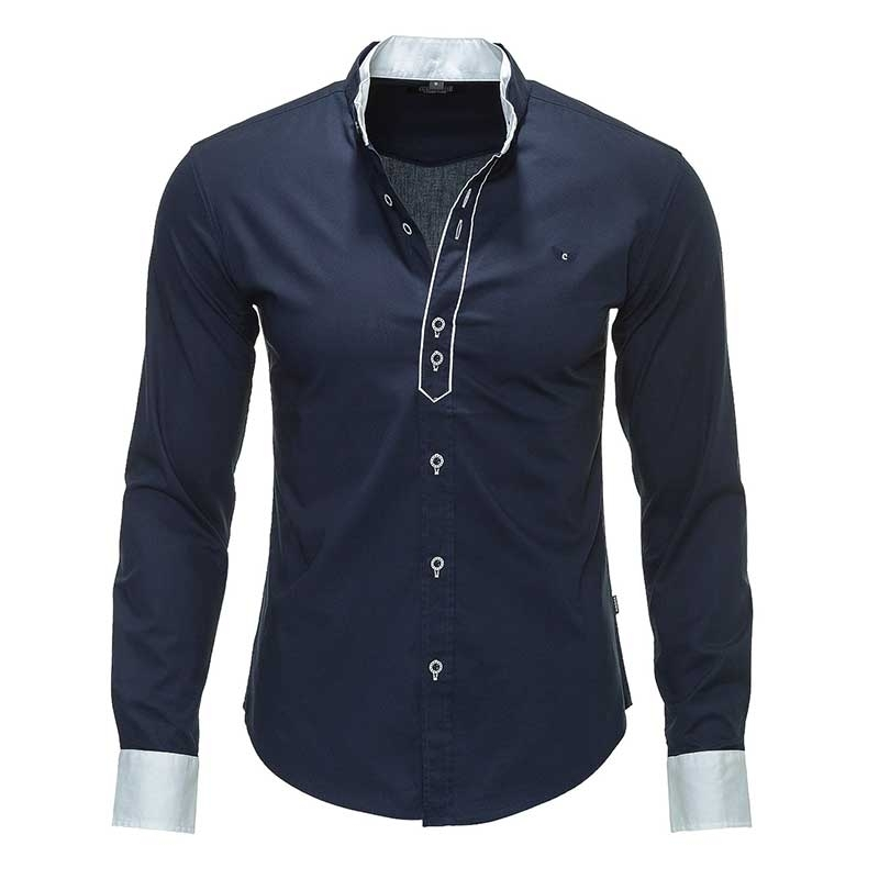 CARISMA HEMD Rich relax Linie CRSM 8018 unistyle navy