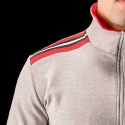 BARCODE Berlin JACKE GYM sweat line Pluton 90891 grey
