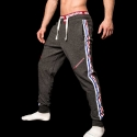 BARCODE Berlin SWEATHOSE gym Mitch 91046 Stretch Fleece black