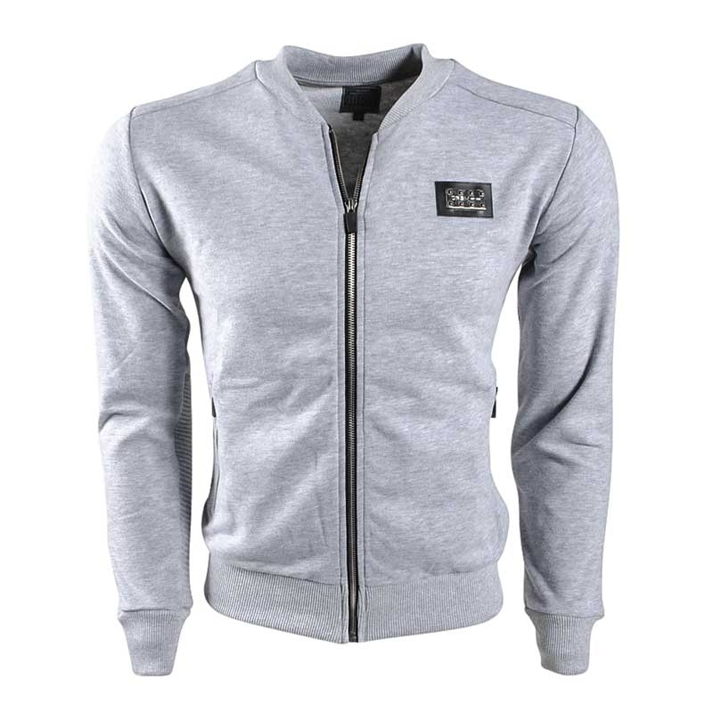 CARISMA SWEATJACKE casual sport MAN basic CRSM 3166 aktive grey