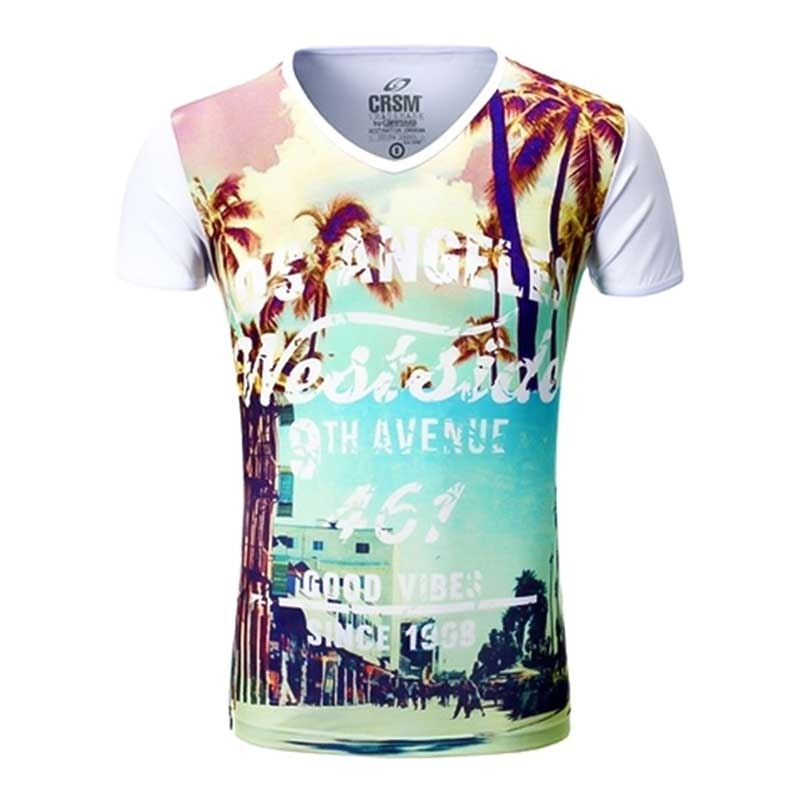 CARISMA T-SHIRT CRSM4171 Los Angeles Print