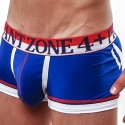 ZONE4+PRIVATE PANTS Hot-Pants skeleton blue