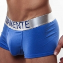 NAIKENTE PANTS micro PREMIUM silver lift-up blue