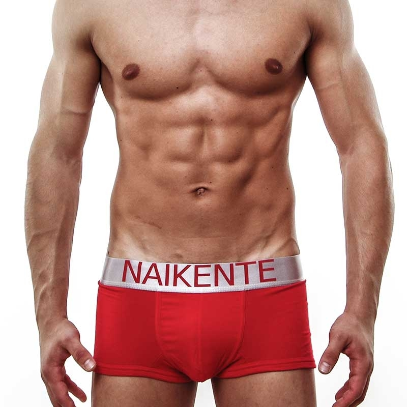 NAIKENTE PANTS micro PREMIUM silver lift-up red