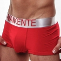 NAIKENTE PANTS micro PREMIUM silber lift-up rot