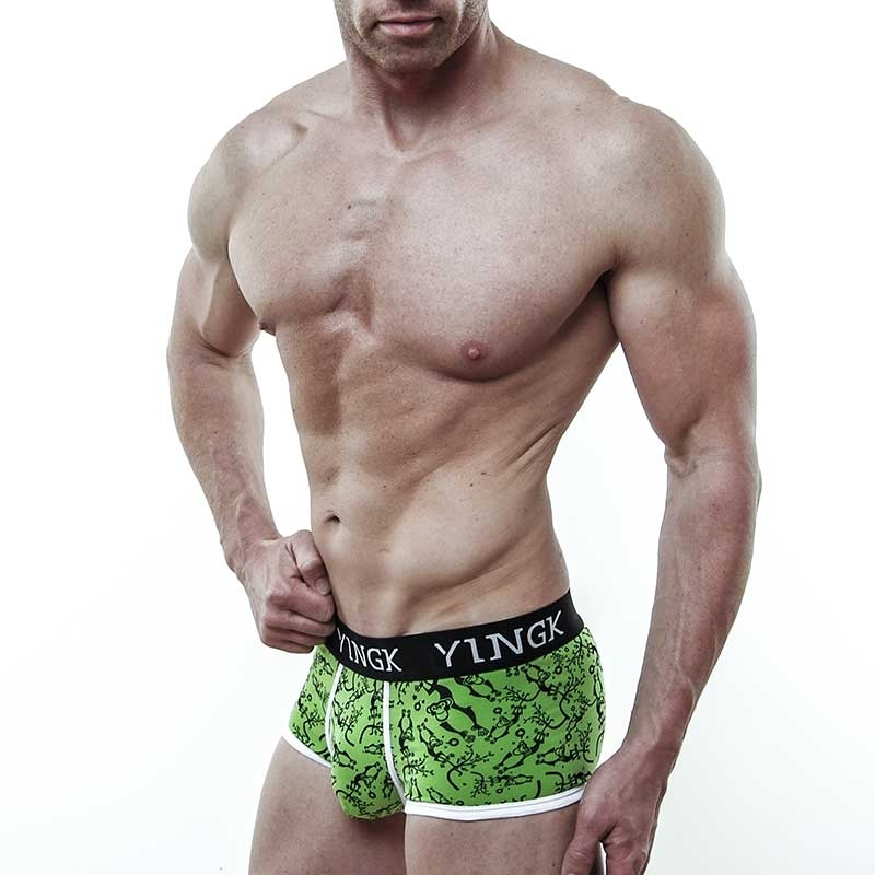 YINGK PANTS micro WILDNIS Style lift-up green