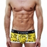 YINGK PANTS micro SURFER Style lift-up yellow