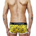 YINGK PANTS micro SURFER Style lift-up gelb