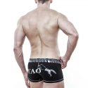 TOMMY Dooyao PANTS hot Der Wolf lift-up in schwarz