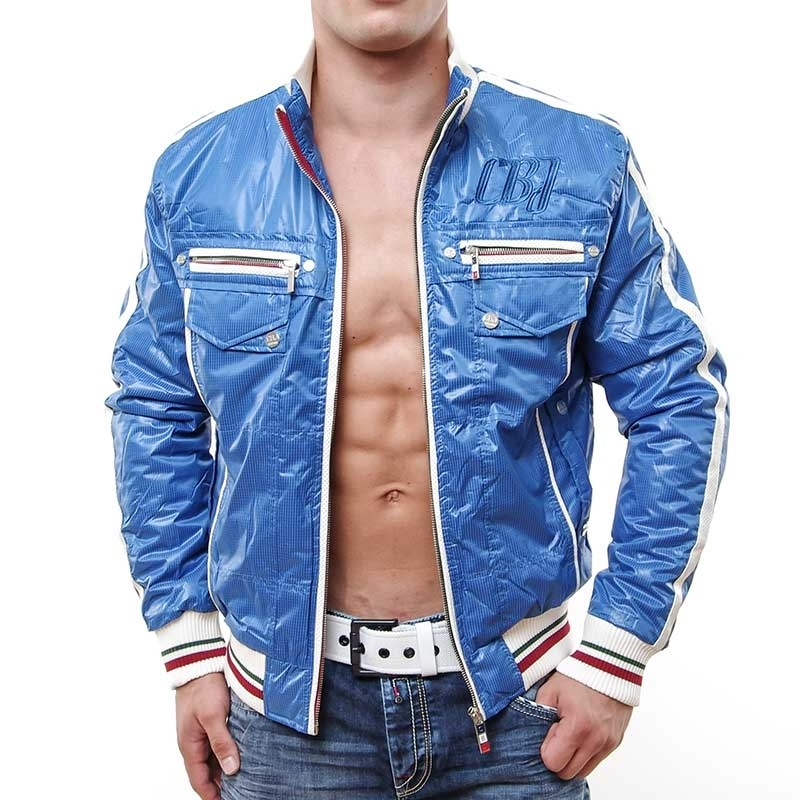 CIPO & BAXX JACKE Mr.Ted Sommer C-7100 iceboy blue