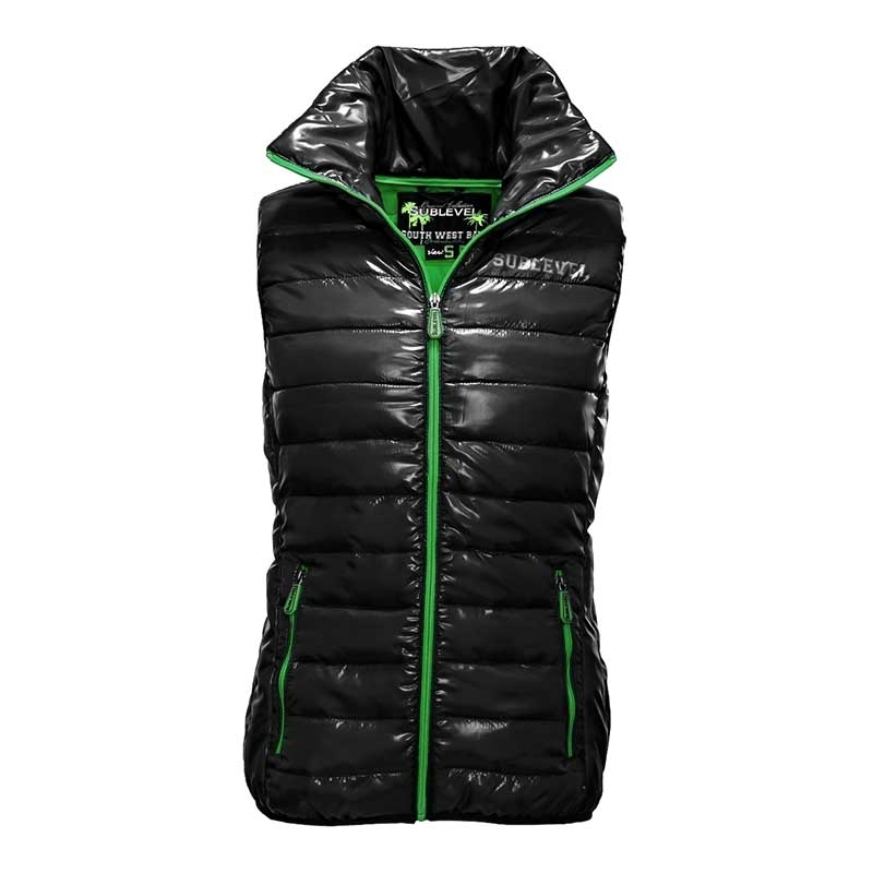 SUBLEVEL VESTS JACKET air bag POWER black-green