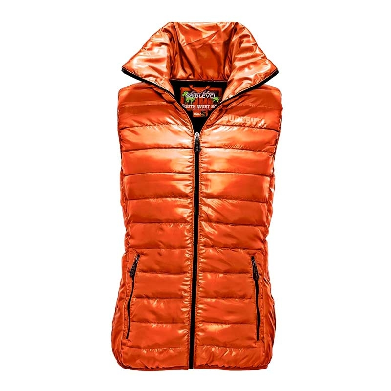 SUBLEVEL VESTS JACKET air bag POWER orange-black