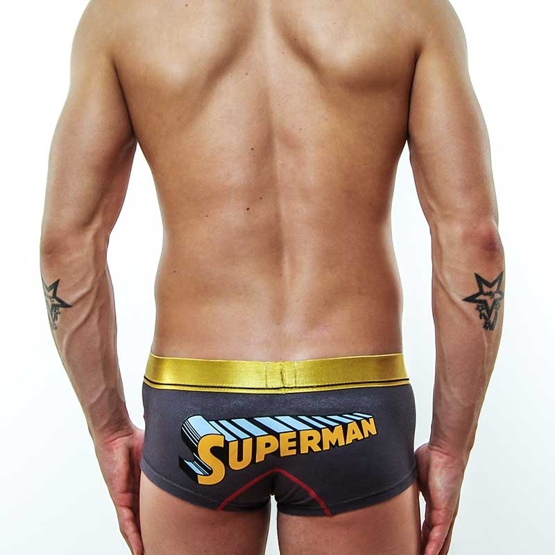 MOOD PANTS hot slinky Push up star SUPERMAN gold-grau