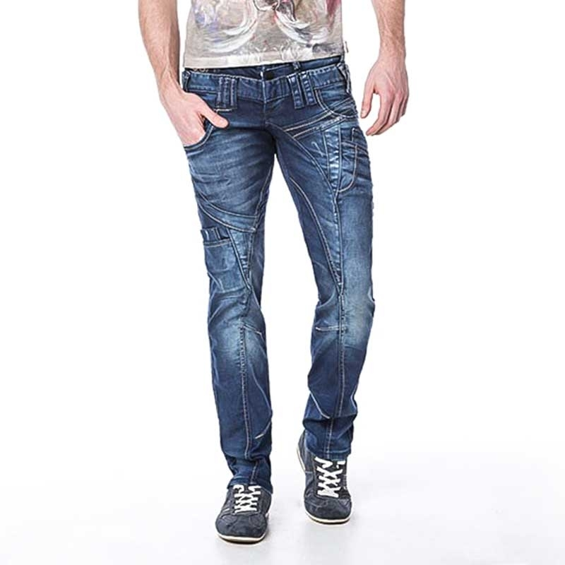 CIPO and BAXX JEANS PANTS C1180 with concealed buttons
