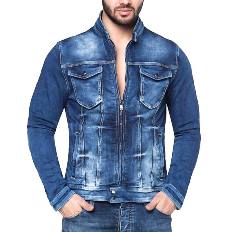 CIPO and BAXX JEANSJACKE CJ104 klassisches Denim