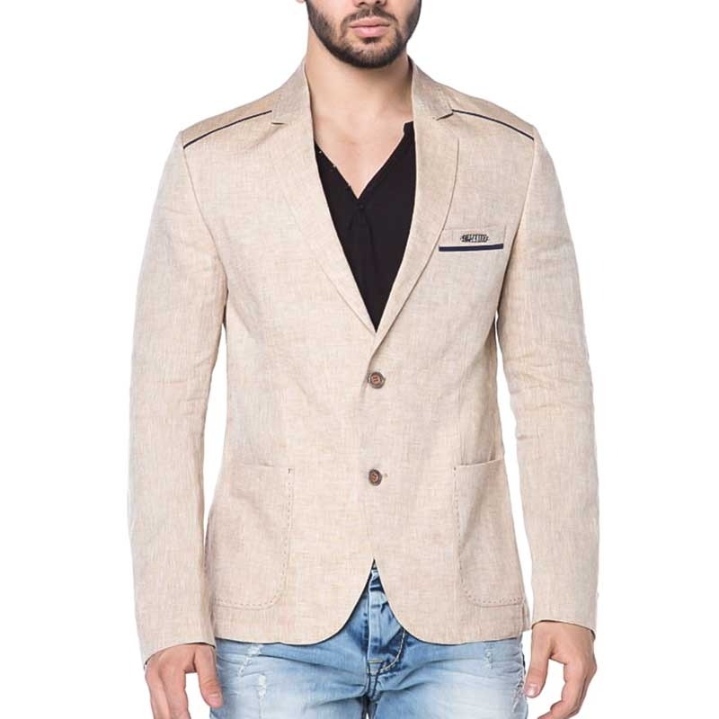 CIPO and BAXX SAKKO casual Look BEACH CJ106 summer beige