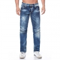 CIPO and BAXX  JEANSHOSE C44013 verblasste Look