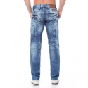 CIPO and BAXX JEANS PANTS CD119 with designer waistband