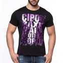 CIPO and BAXX T-SHIRT CT101 shiny party print