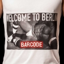 BARCODE Berlin TANK Top welcom to BERLIN 91091 kinky white