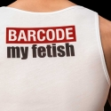 BARCODE Berlin TANK Top low cut barcode ALEX 91093 wild white