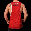 BARCODE Berlin TANK Top low cut IN THE GAME 91092 football red