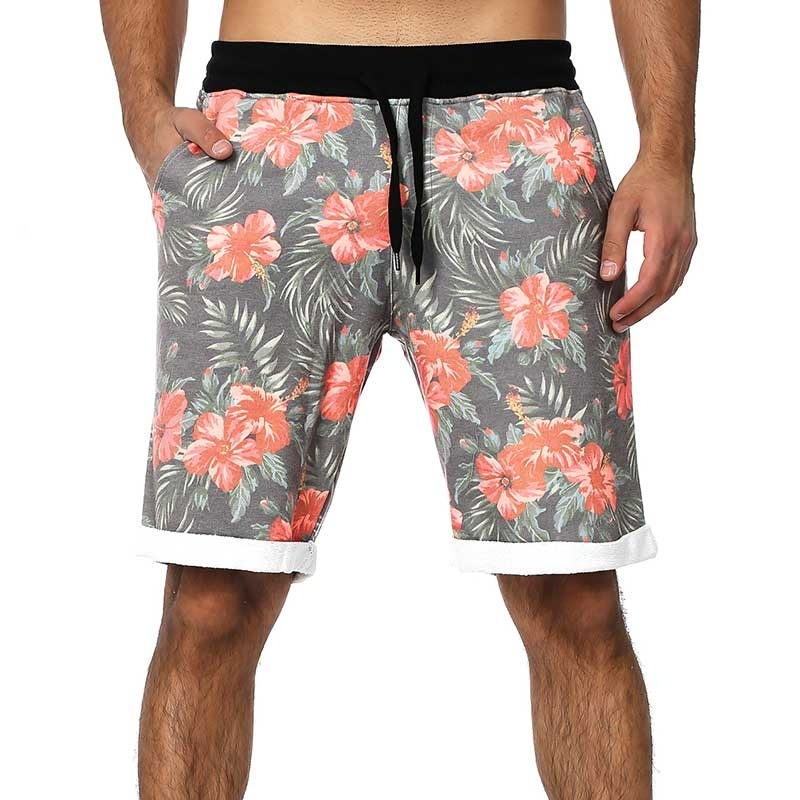 CARISMA KAROSHORTS casual FLOWER CRSM 2507 beach orange