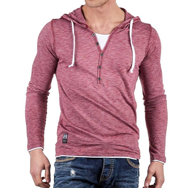CARISMA SWEATSHIRT sommer HOODIE light CRSM 3072 bodystyle red