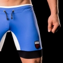 BARCODE Berlin SHORTS Biker backless MIGUEL 91108 sport Pants blue