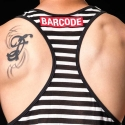BARCODE Berlin TANK Top marine X-cut ELDIN 91140 athletik black