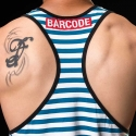 BARCODE Berlin TANK Top marine X-cut ELDIN 91140 athletik blue