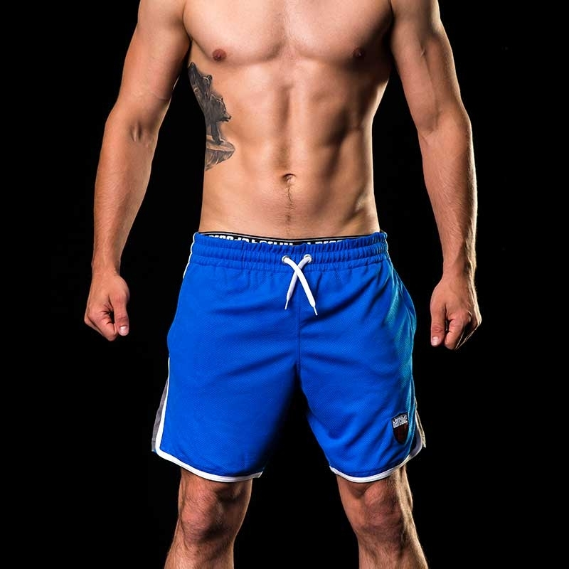 BARCODE Berlin SHORTS casual Sport 91142 in blau