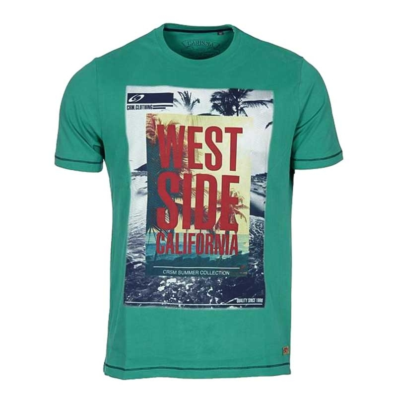 CARISMA T-SHIRT regular California WEST Premium 4312 Palmbeach green