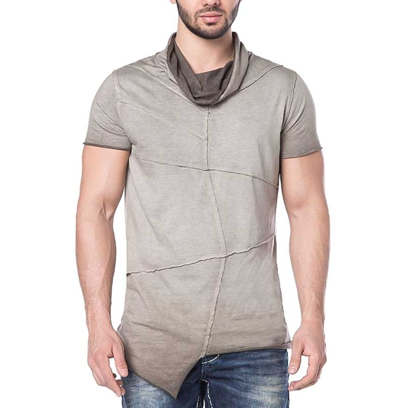 CIPO and BAXX T-SHIRT CT170 with shawl collar